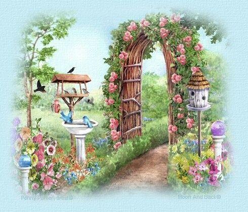Paysages fleuris page 3 for Paysage de jardin