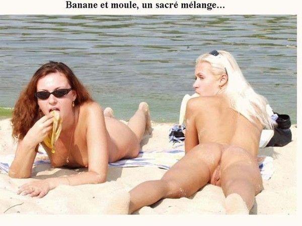 Ours écrou de banane nue